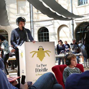 """""""La Puce à l'Oreille"""" -  Nuit de la lecture - bibliothèque de Caen @ Biblitothèque Alexis de Tocqueville"""